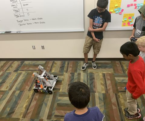 UAA LEGO Robotics Camp