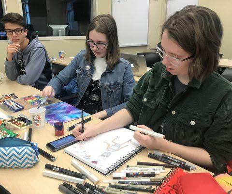 Riley Robot Illustration Workshop